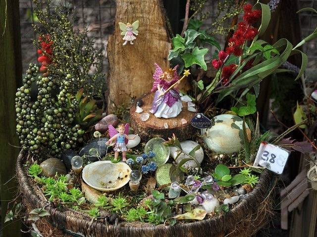 Amazing DIY Fairy Garden Ideas 4