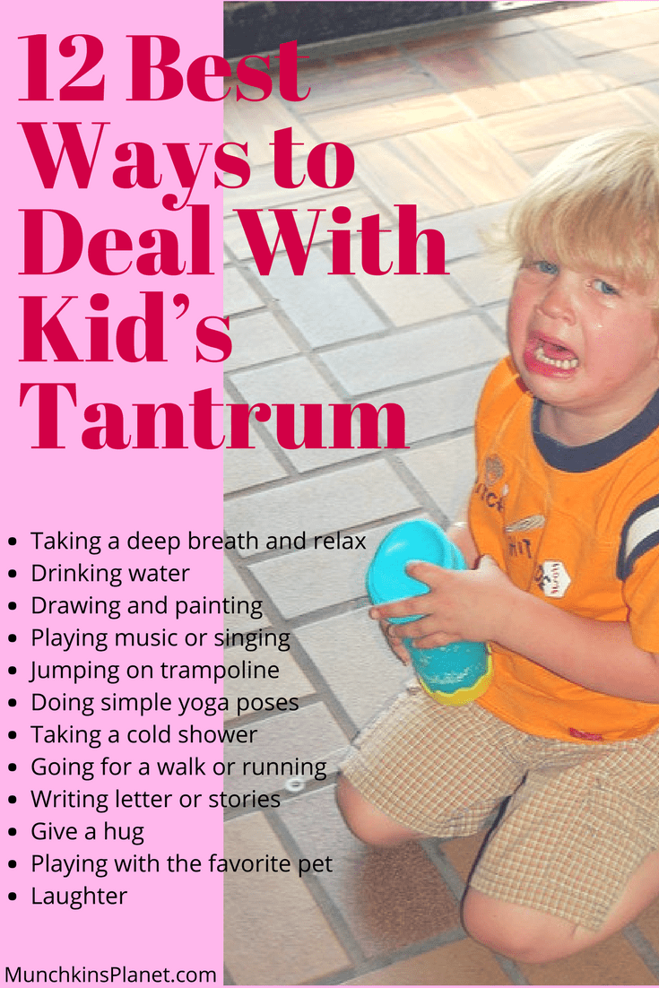 best ways to deal with kids tantrum