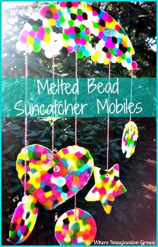 melted beads suncatcher