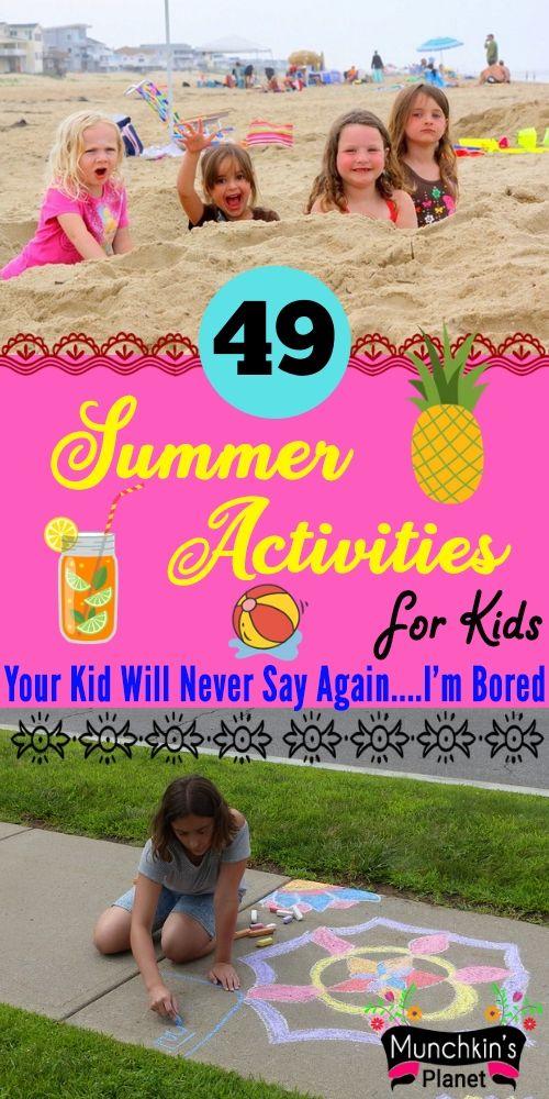 summer asctivities for kids