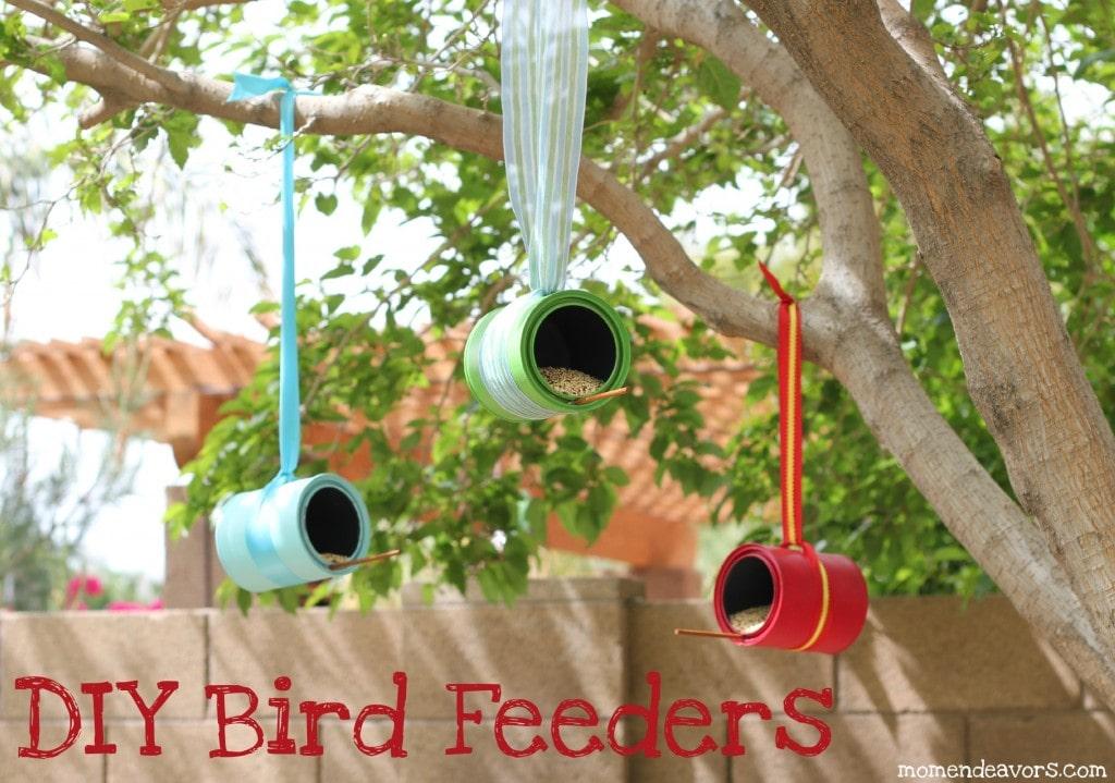 tin can bird feeder