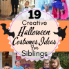 19 Creative Halloween Costumes Ideas For Siblings