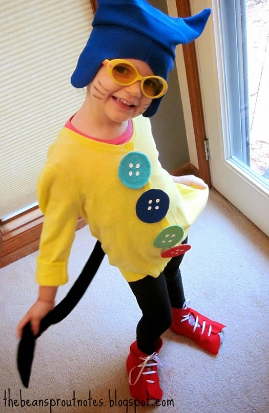 scary and funny halloween costumes for kids 14