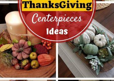 21 Gorgeous DIY Thanksgiving Centerpieces Table Decorations Ideas