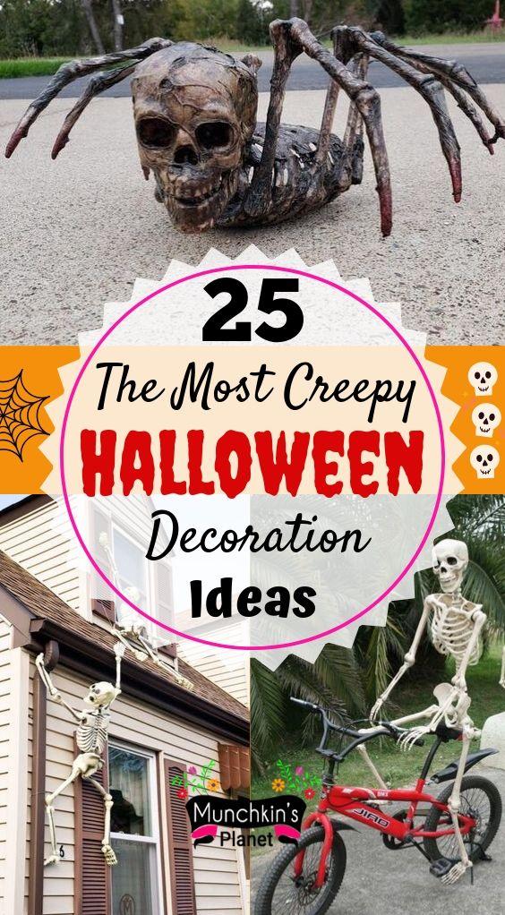 most creepy diy halloween decoration front yard