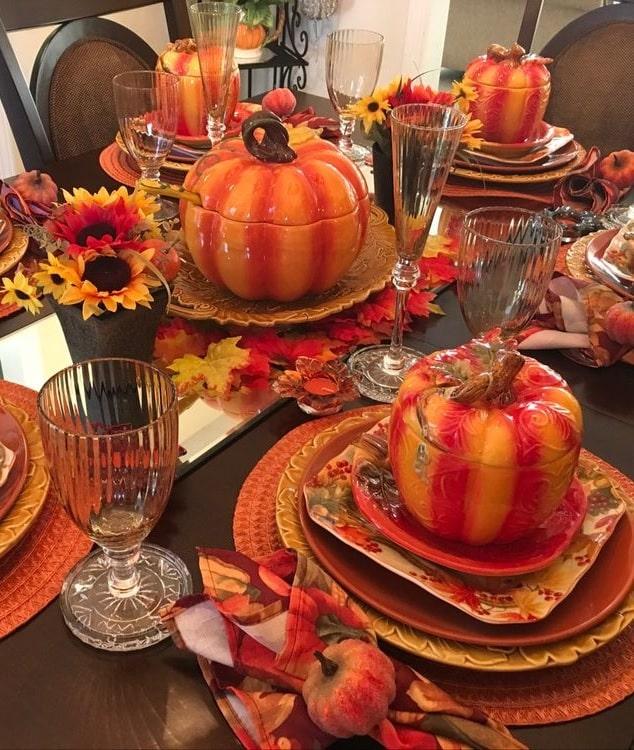 thanksgiving table setting ideas 1