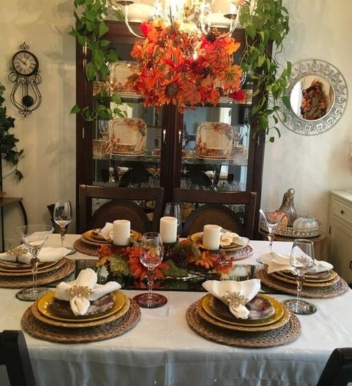 thanksgiving table setting ideas 11