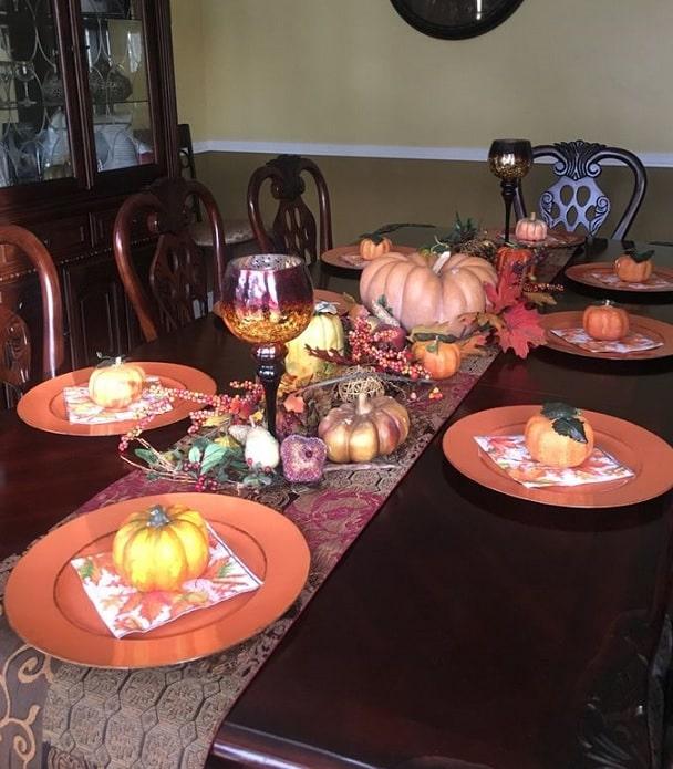 thanksgiving table setting ideas 15