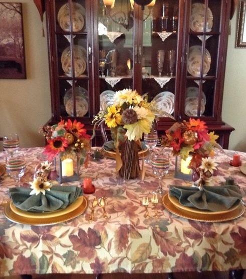 thanksgiving table setting ideas 16