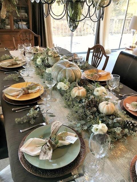 thanksgiving table setting ideas 19