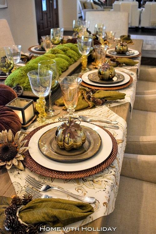 thanksgiving table setting ideas 23