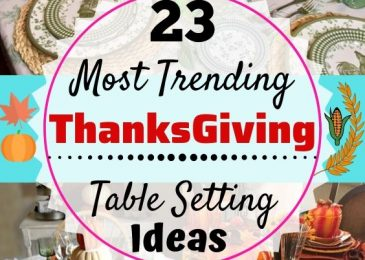25 Most Trending Thanksgiving Table Setting Ideas