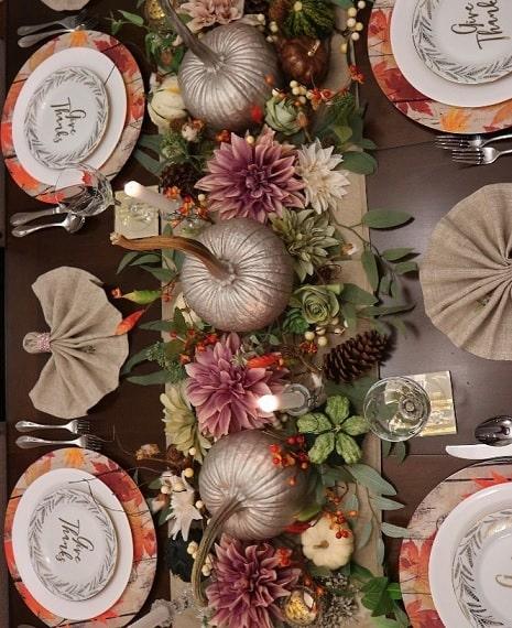 thanksgiving table setting ideas 5