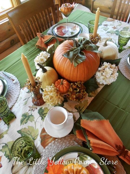 thanksgiving table setting ideas 7