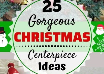 25 Gorgeous Christmas Table Centerpieces Decoration Ideas