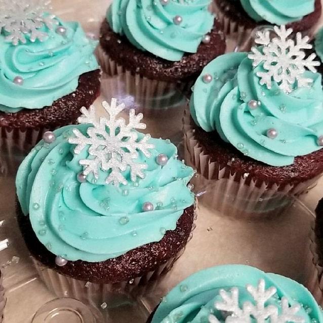 Easy Christmas cupcakes Ideas 16