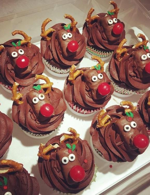 Easy Christmas cupcakes Ideas 3