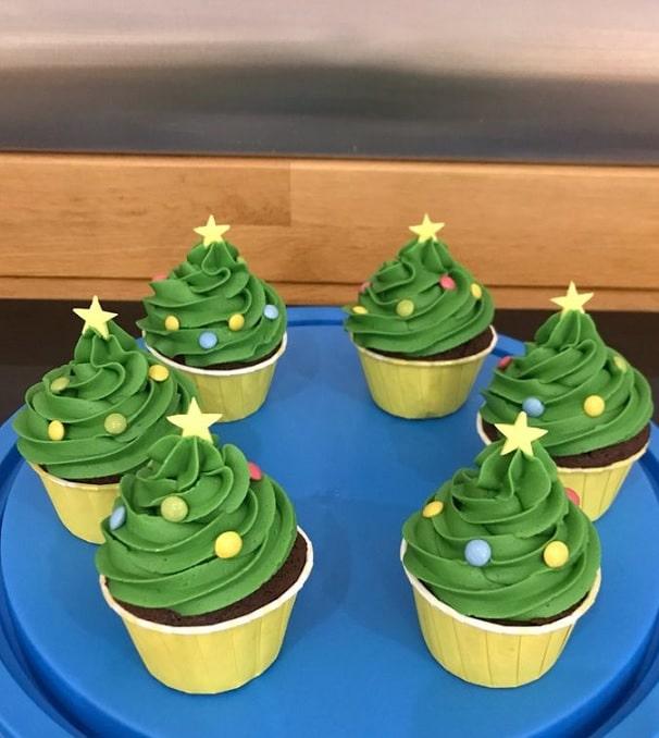 Easy Christmas cupcakes Ideas 7