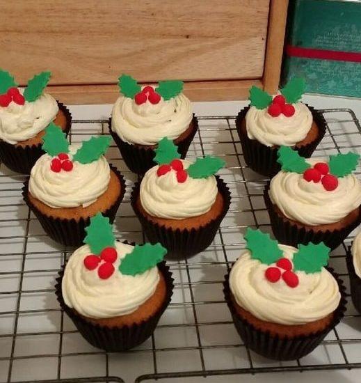 Easy Christmas cupcakes Ideas 8