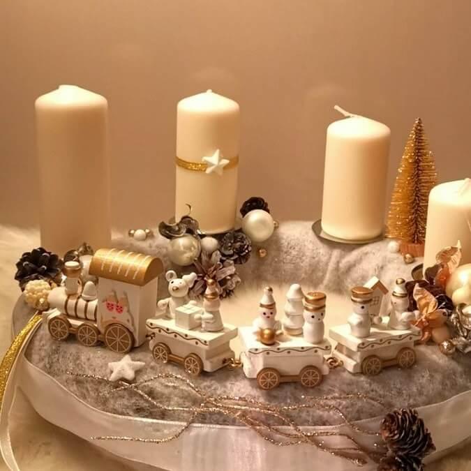 christmas table centerpieces decorations ideas 1