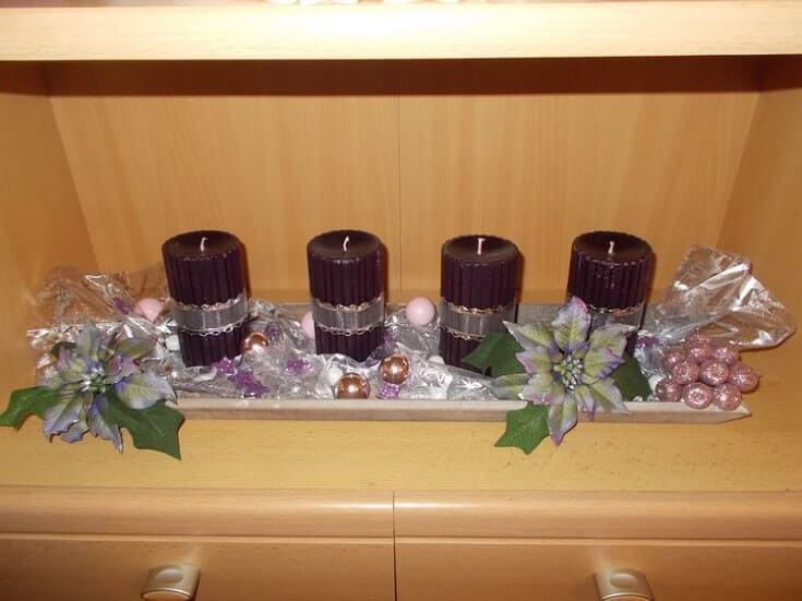 christmas table centerpieces decorations ideas 10