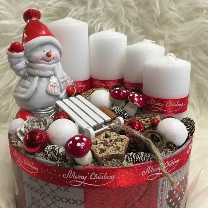 christmas table centerpieces decorations ideas 3