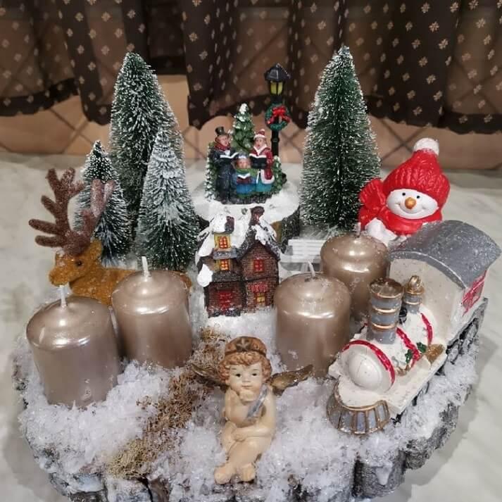 christmas table centerpieces decorations ideas 5