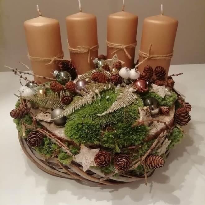 christmas table centerpieces decorations ideas 6