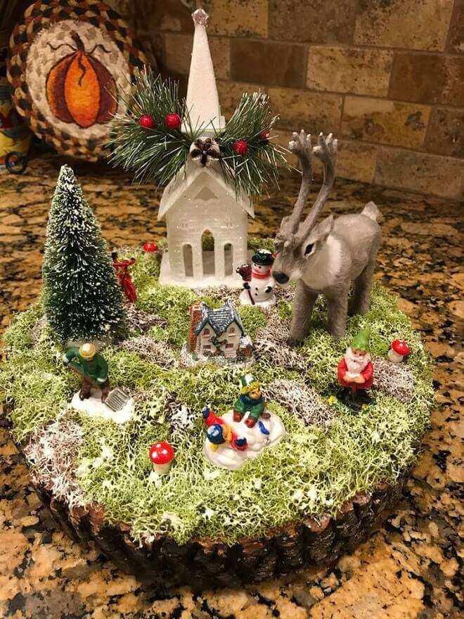 christmas table centerpieces decorations ideas 9