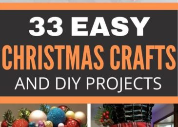 33 Easy Christmas Crafts & DIY Projects