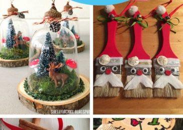 19 Easy DIY Christmas Ornaments Ideas