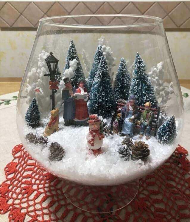 christmas table centerpieces decorations ideas 12
