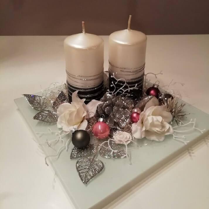 christmas table centerpieces decorations ideas 13