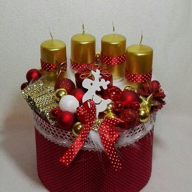 christmas table centerpieces decorations ideas 15