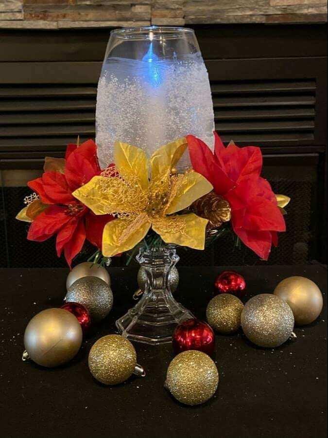 christmas table centerpieces decorations ideas 17