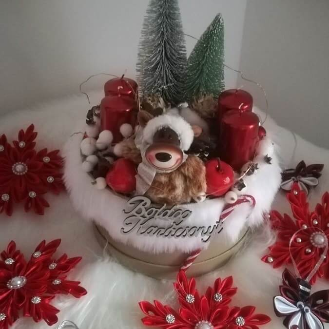 christmas table centerpieces decorations ideas 18