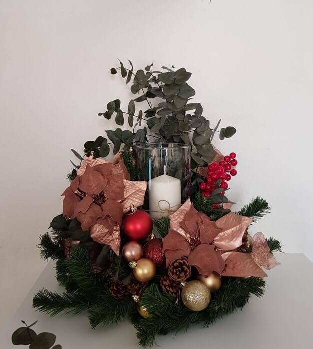 christmas table centerpieces decorations ideas 19