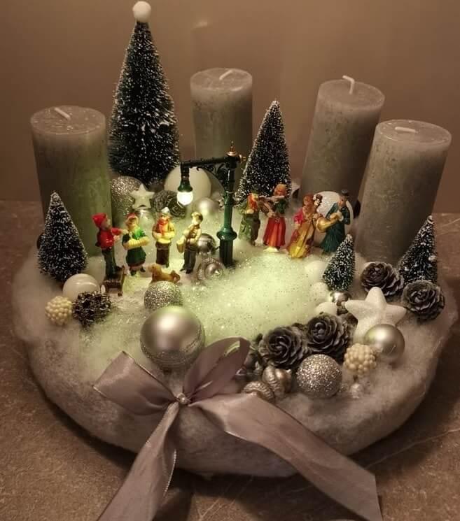 christmas table centerpieces decorations ideas 20