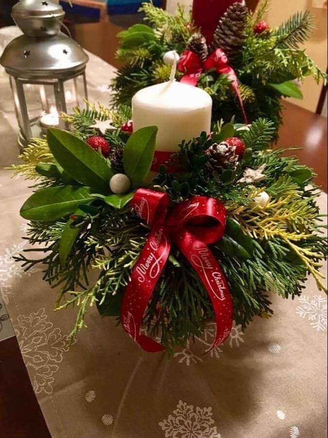christmas table centerpieces decorations ideas 23