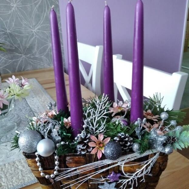 christmas table centerpieces decorations ideas 24