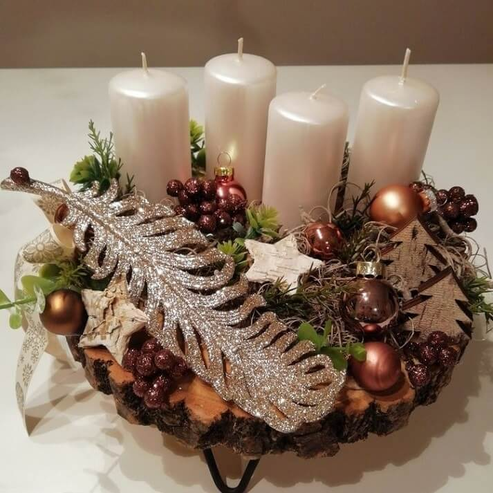 christmas table centerpieces decorations ideas 25
