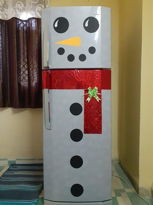 refrigerators snowman