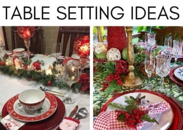 15 Simple & Elegant Christmas Table Setting Ideas