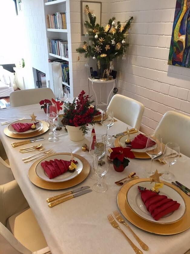 simple easy christmas table setting ideas 5