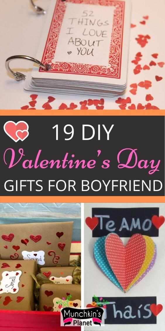 26 Cute Romantic Valentine S Day Gifts For Boyfriend Munchkins Planet