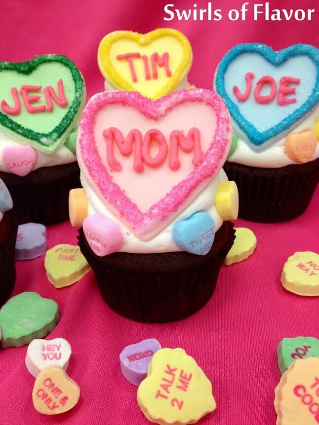 easy valentines day cupcakes desserts recipes 4