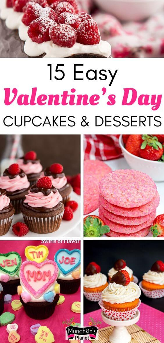easy valentines day cupcakes desserts recipes