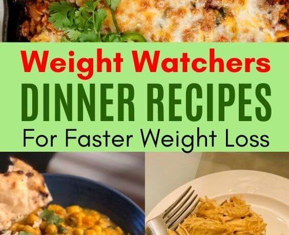 weight watchers dinner recipes smartpoints