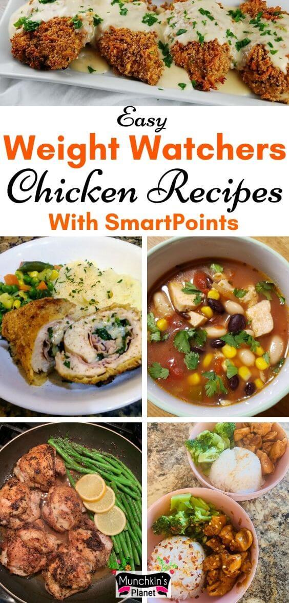 easy weight watchers chicken recipes