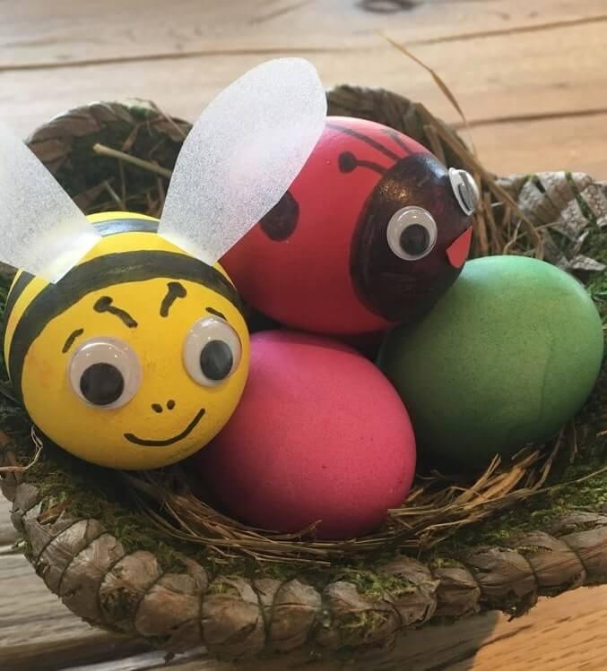 diy easter eggs decorating ideas 15